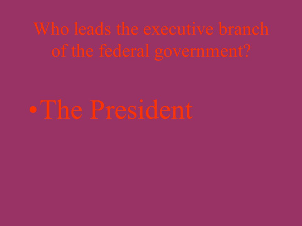 What is federalism? The division of power in the United States between the national government and the state governments.