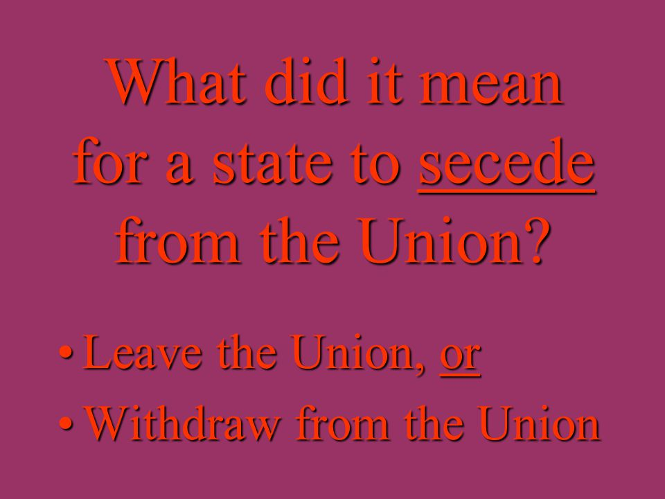 What country did the seceded Southern states form in 1861? The Confederate States of America orThe Confederate States of America or The ConfederacyThe
