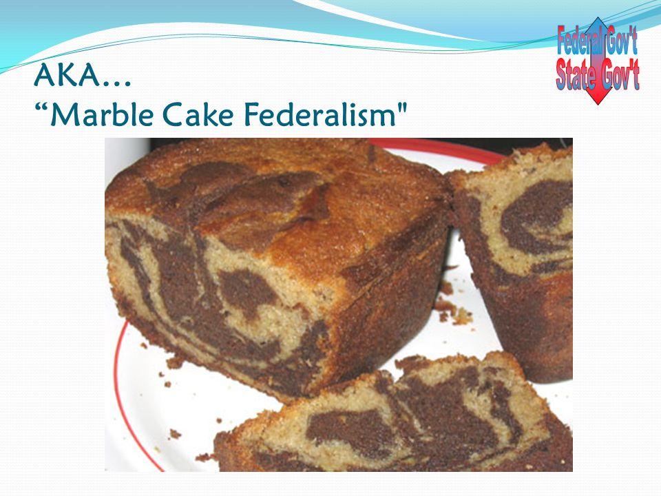 """AKA… """"Marble Cake Federalism"""