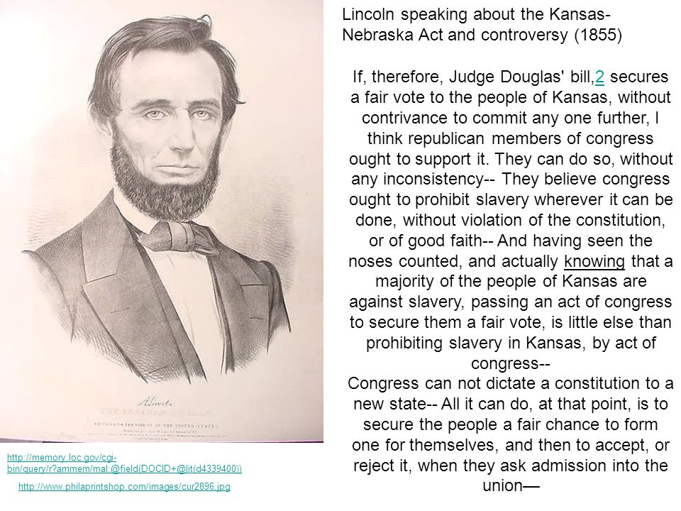http://www.philaprintshop.com/images/cur2896.jpg If, therefore, Judge Douglas' bill,2 secures a fair vote to the people of Kansas, without contrivance