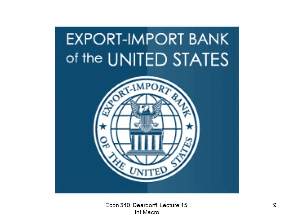 News: Mar 9-15 Tea Party divided on renewal of Export-Import Bank – The Export-Import Bank guarantees loans to overseas customers of thousands of American companies. It is an 81-year old institution that will disappear June 30 if not renewed by Congress.