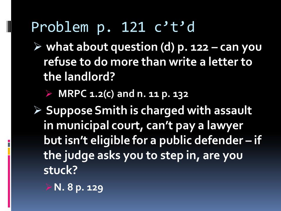 B(2) Identifying the Client  Problem p.133  Who are the Young & Winslow firm's clients .