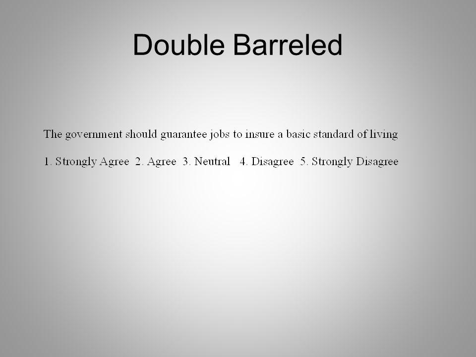 Double Barreled