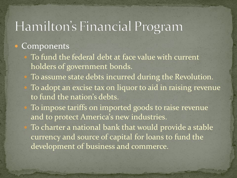 Is a national bank constitutional.Congress passed the bank bill over Madison's objections.