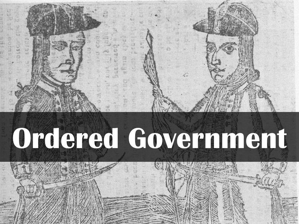 Ordered Government