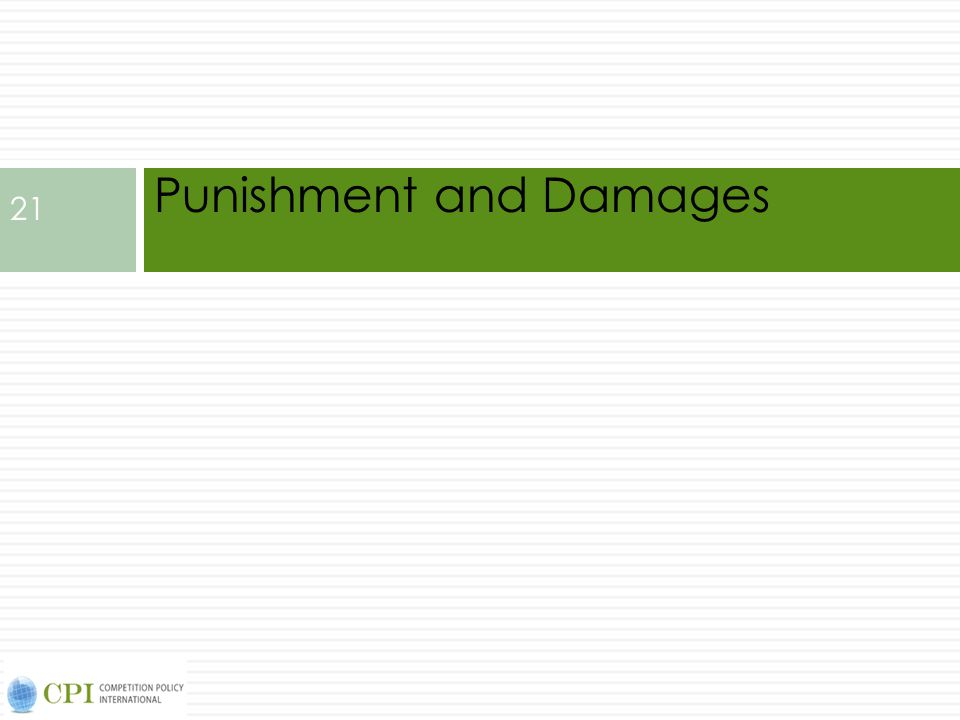 Punishment and Damages 21
