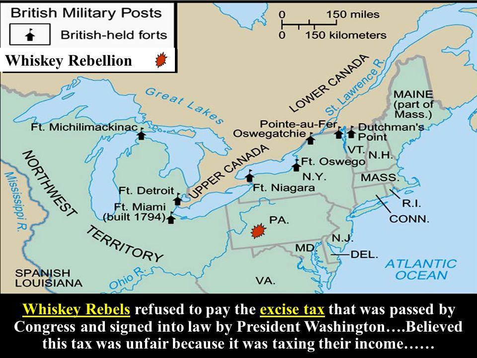 Farmer's revolt in western Pennsylvania.Farmer's revolt in western Pennsylvania.