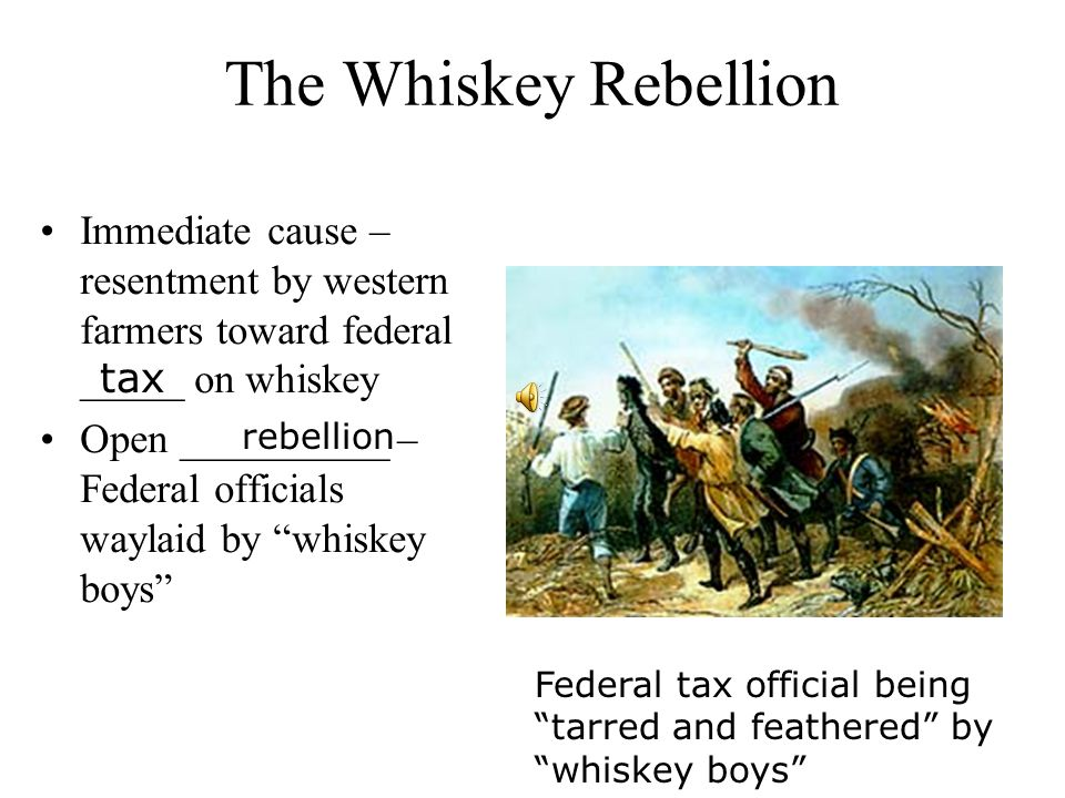 Washington reviewing troops during the Whiskey Rebellion