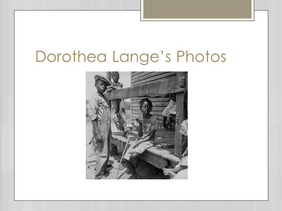 Dorothea Lange's Photos