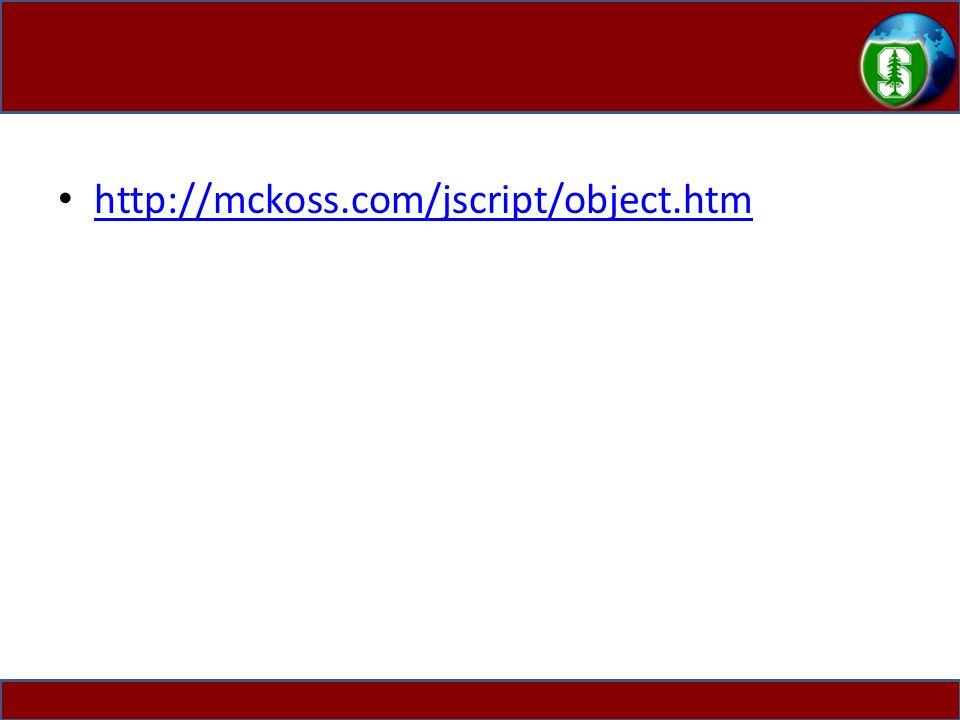http://mckoss.com/jscript/object.htm