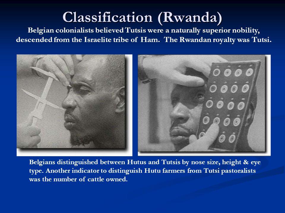 Stage 2: Symbolization  Names : Jew , German , Hutu , Tutsi .