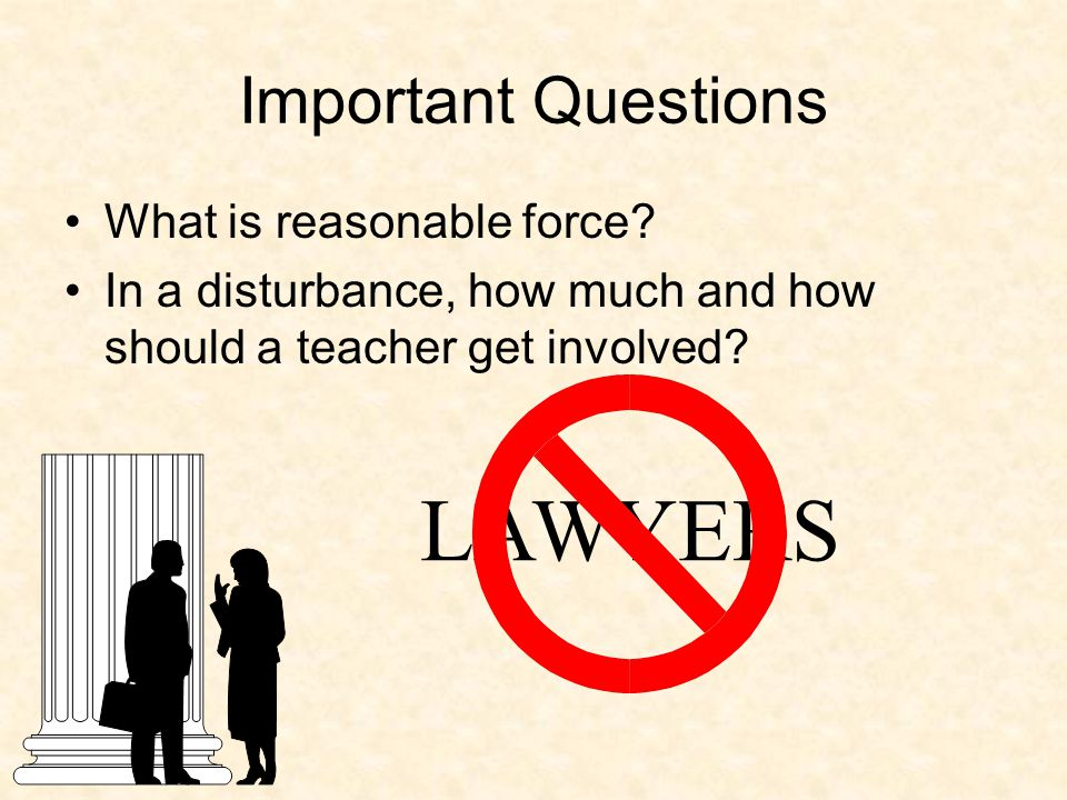 Dealing with Abuse In cases where the problem lies beyond the scope of the school s responsibility, the team: –Informs the parent.