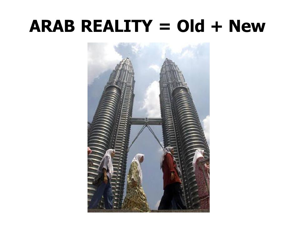 ARAB REALITY = Old + New