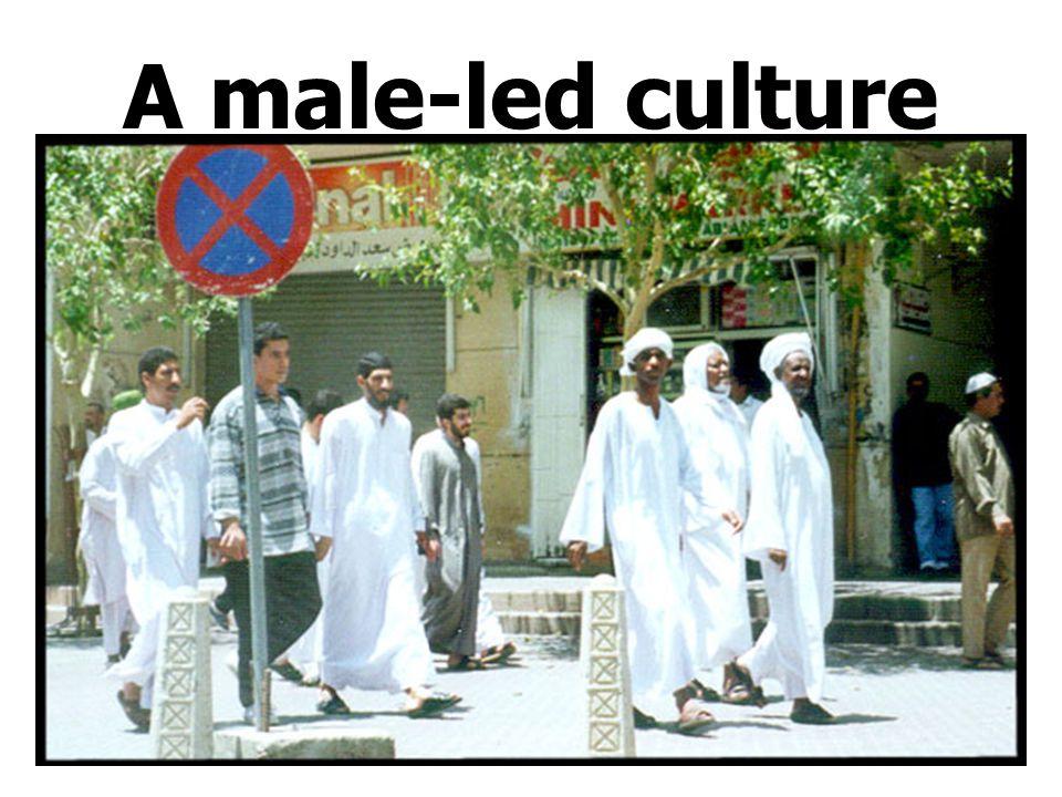 A male-led culture
