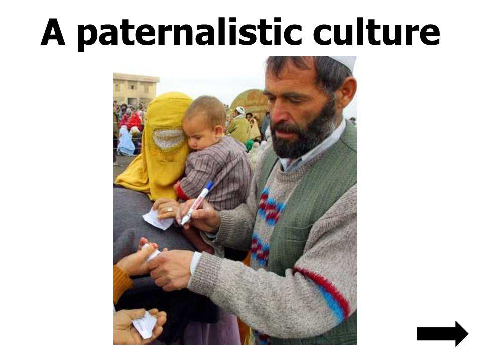 A paternalistic culture