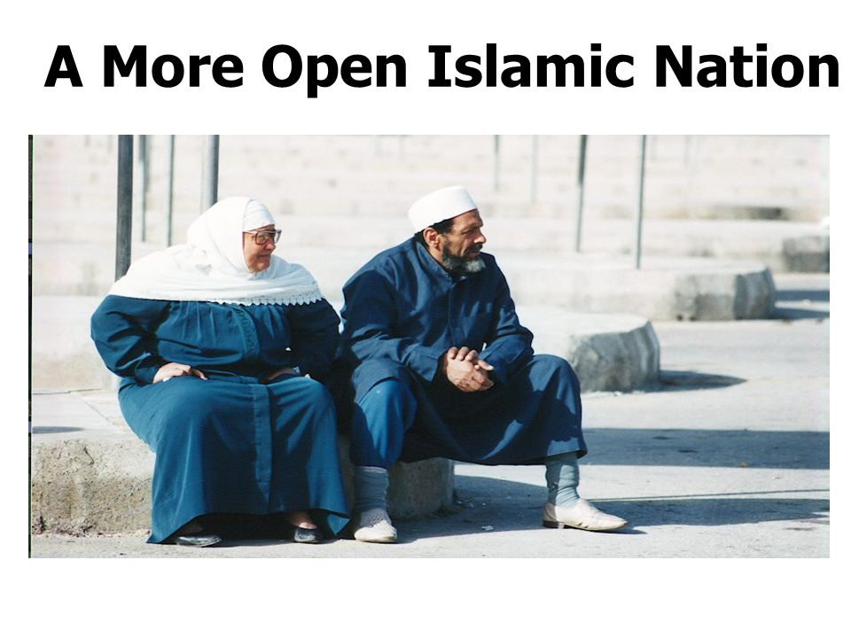 A More Open Islamic Nation