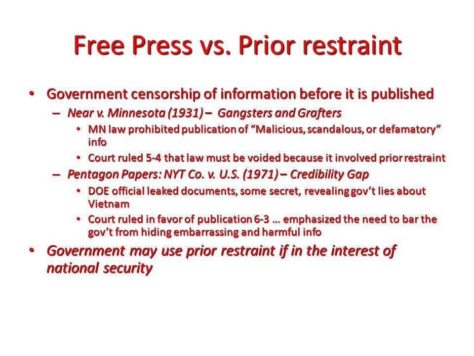 Free Press vs.