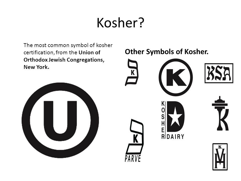 Kosher.