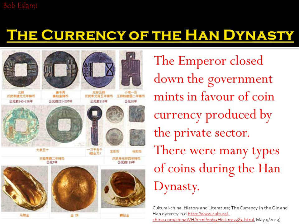 The Emperor closed down the government mints in favour of coin currency produced by the private sector.