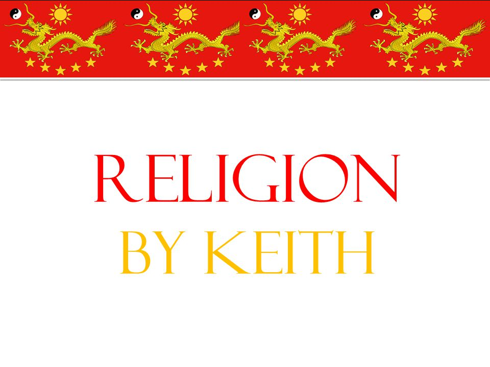 Religion By Keith
