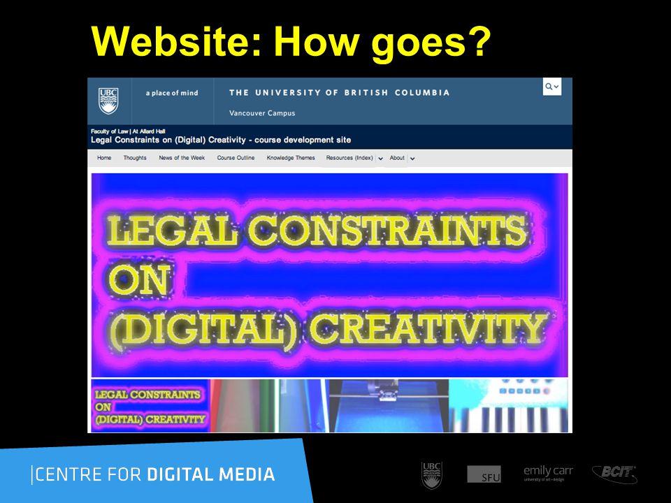 Website: How goes
