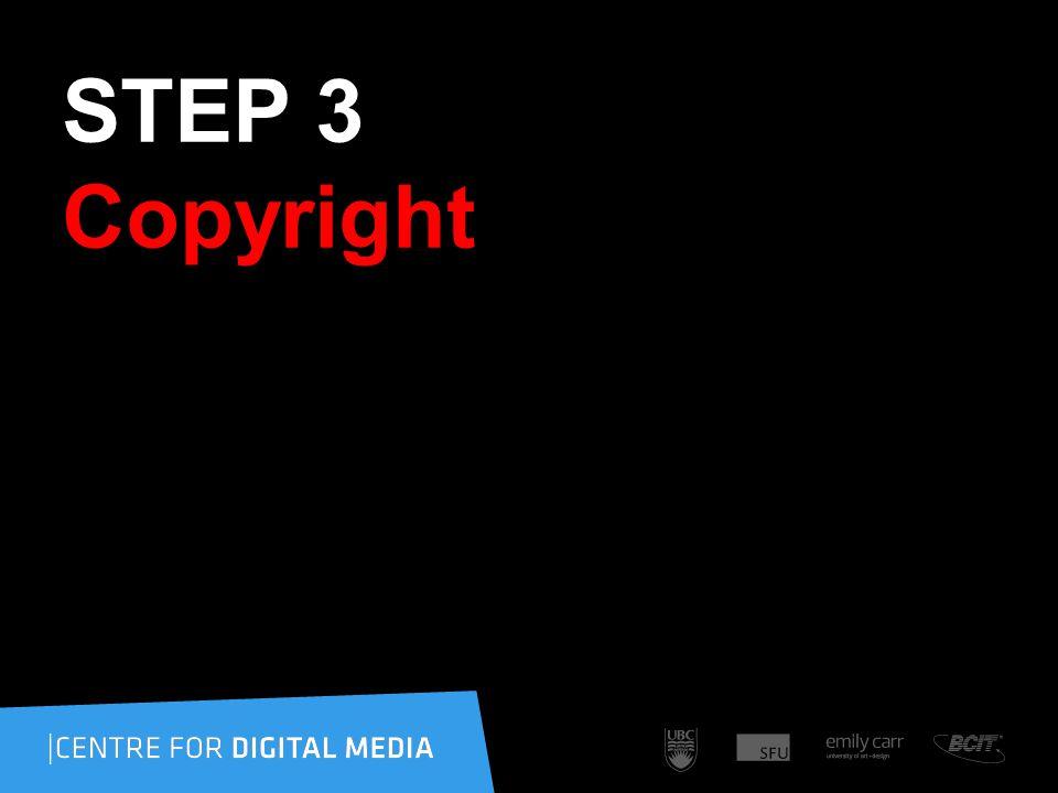 STEP 3 Copyright
