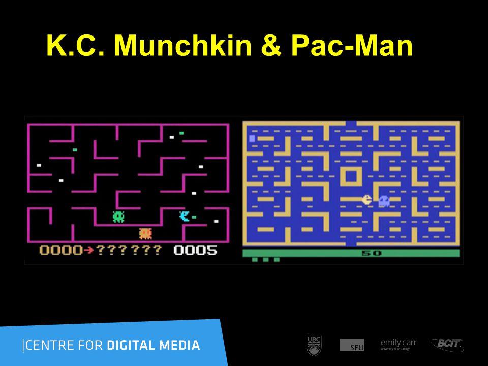 K.C. Munchkin & Pac-Man