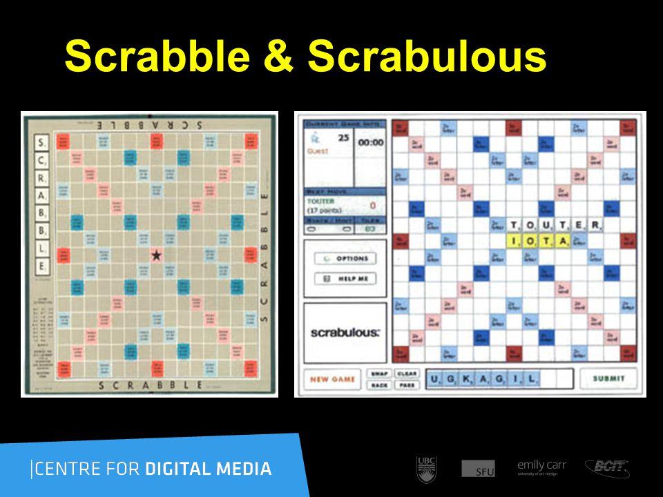 Scrabble & Scrabulous