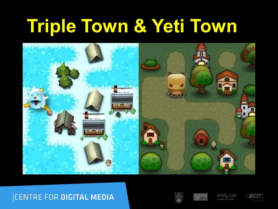 Triple Town & Yeti Town
