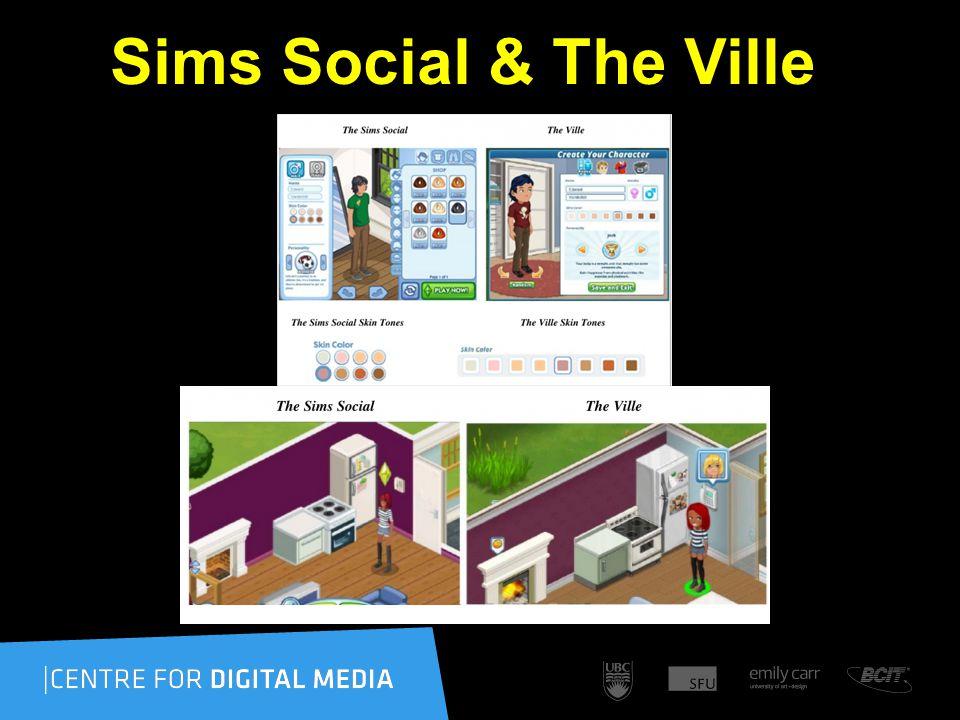 Sims Social & The Ville