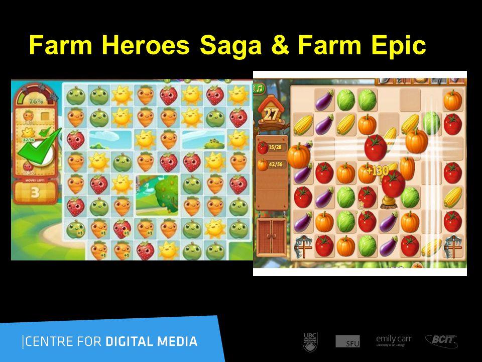 Farm Heroes Saga & Farm Epic