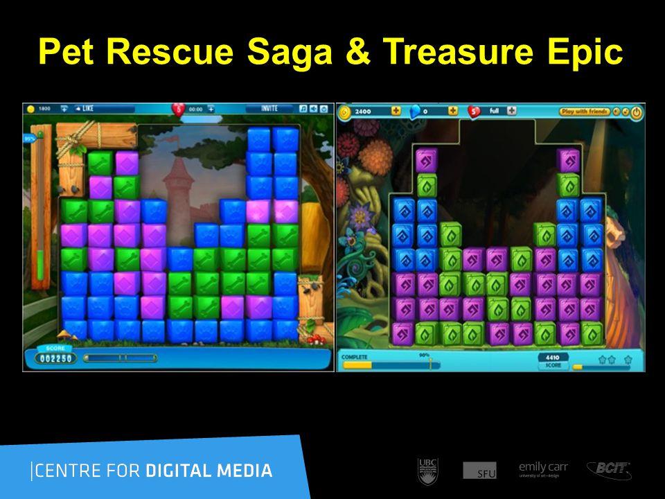 Pet Rescue Saga & Treasure Epic