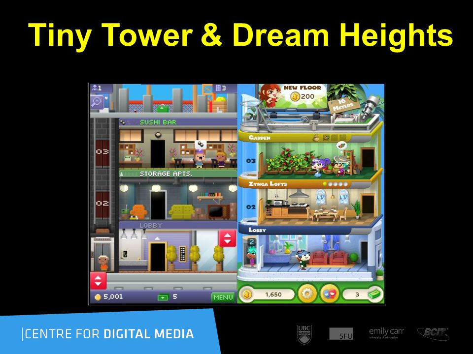 Tiny Tower & Dream Heights