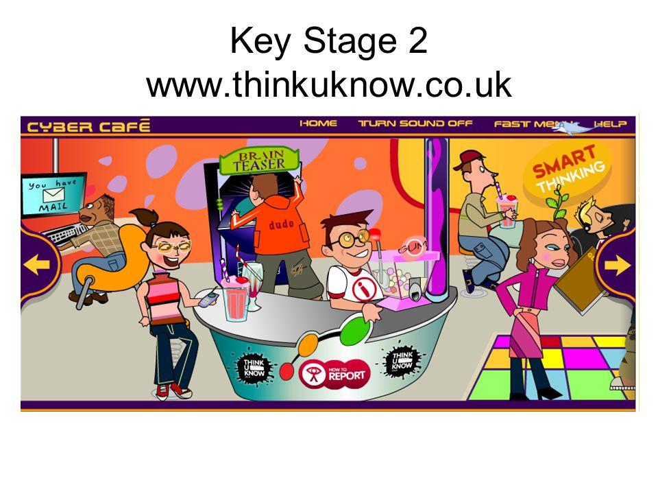 Key Stage 2 www.thinkuknow.co.uk