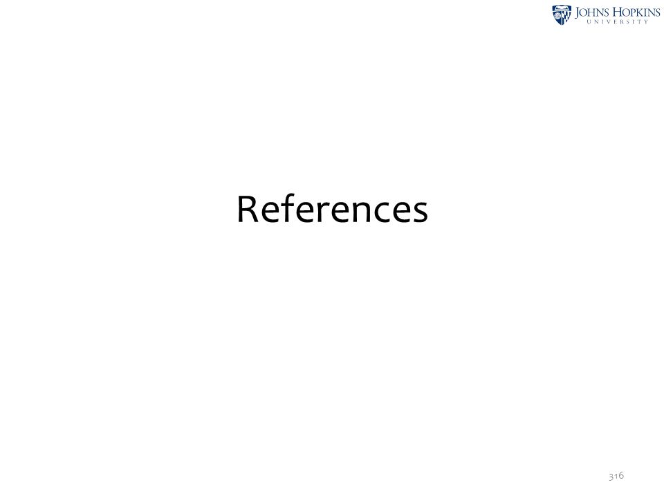 References 316
