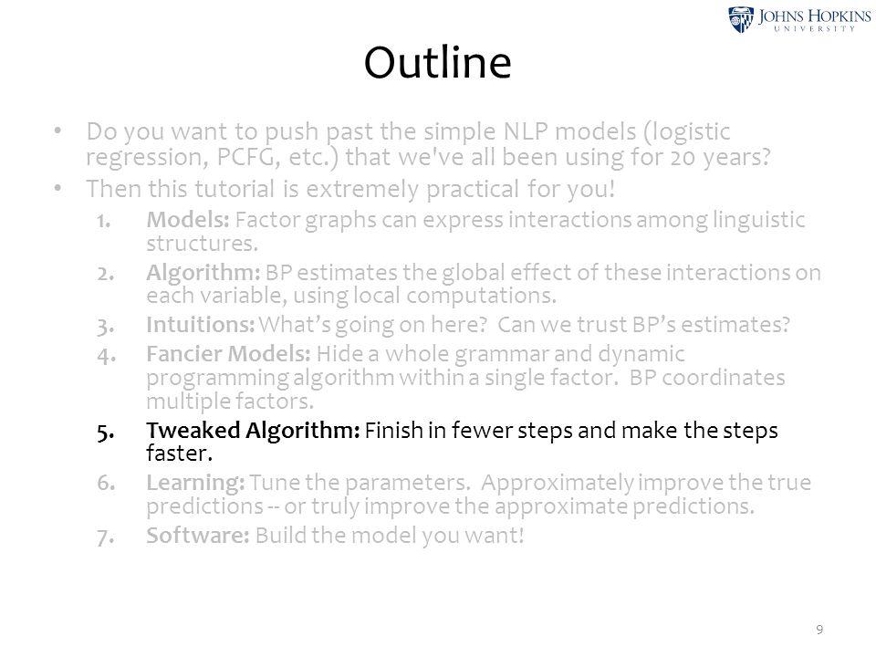 timeflies like an arrow nv p d n Hidden Markov Model 20 But sometimes we choose to make them probabilities.