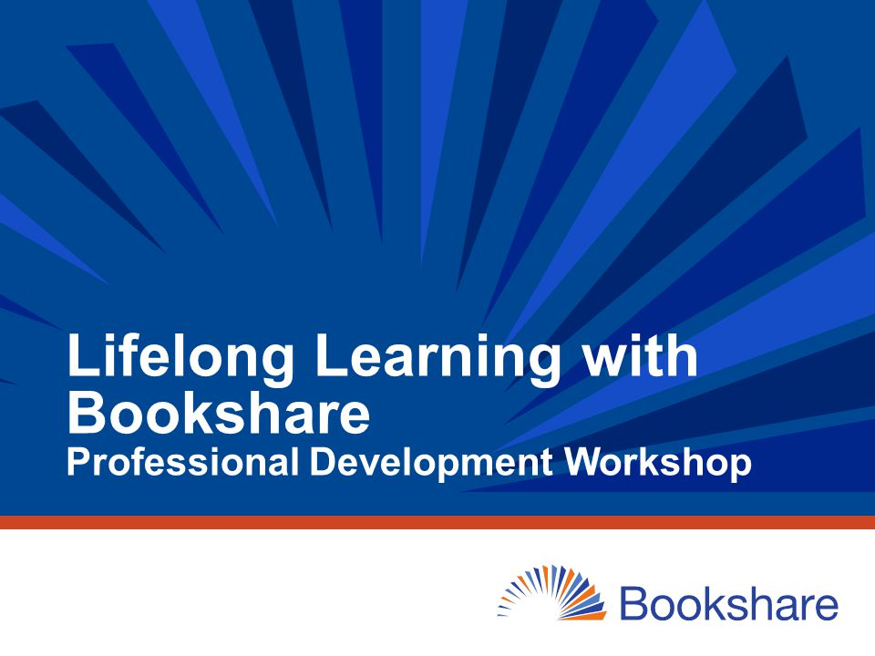 Welcome and Introductions What best describes how familiar you are with Bookshare.