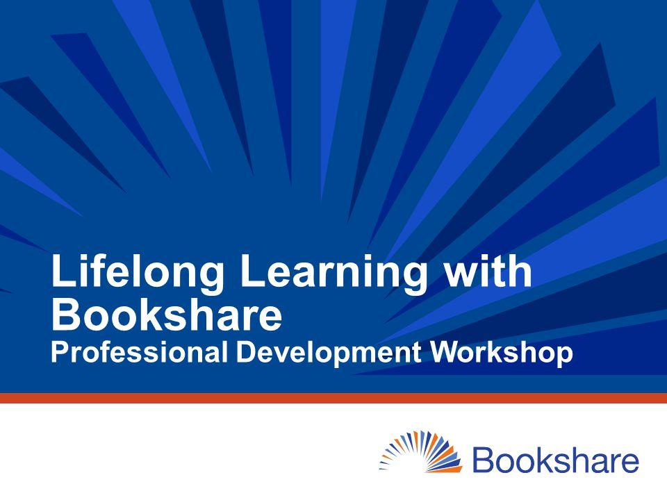 52 My Bookshare: Managing Your Bookshare Account