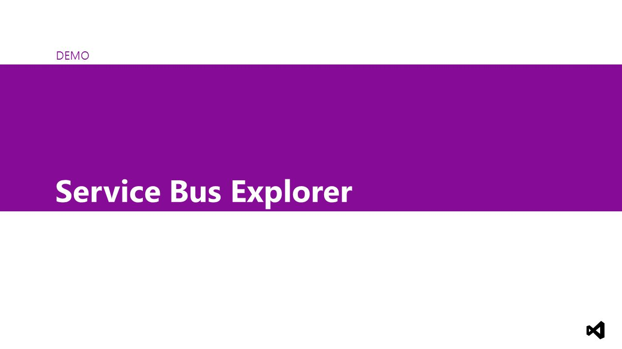 DEMO Service Bus Explorer