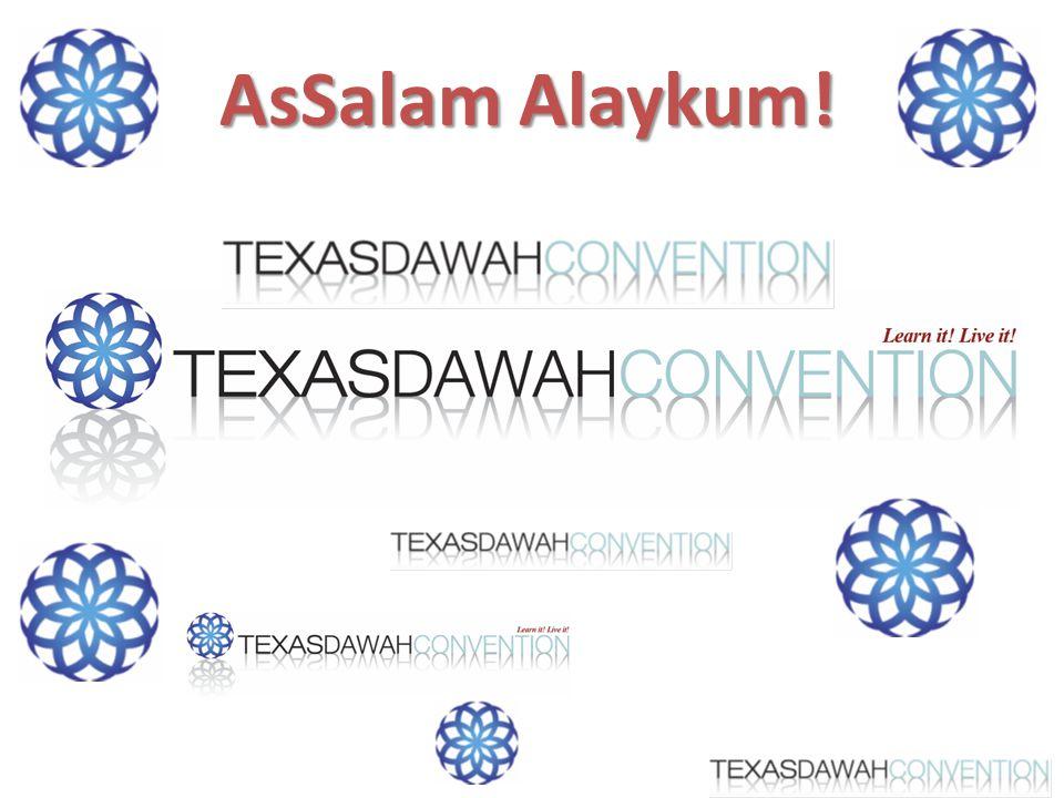 AsSalam Alaykum!