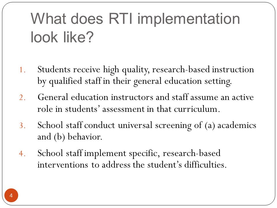 Other features of RTI 5 5.