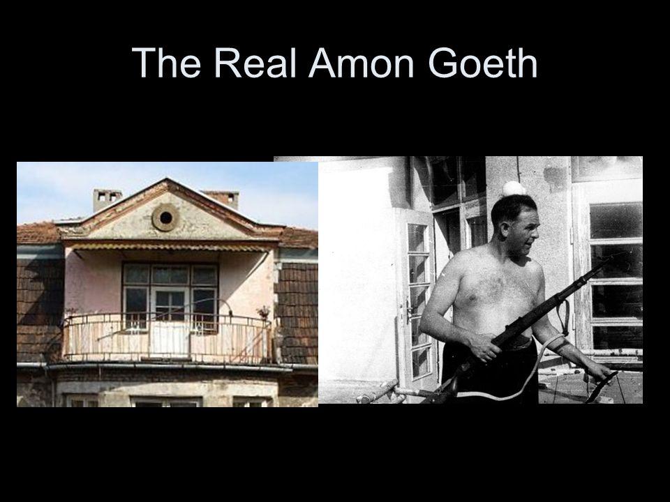 The Real Amon Goeth