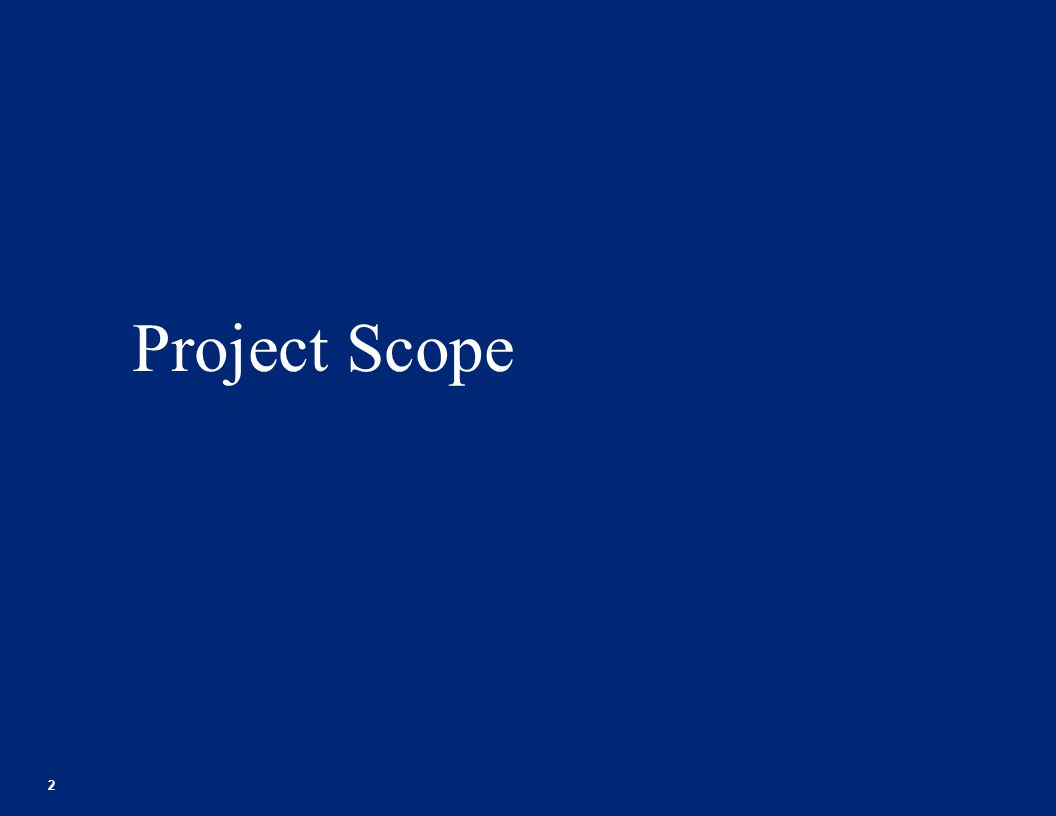 Project Scope 2 Footer