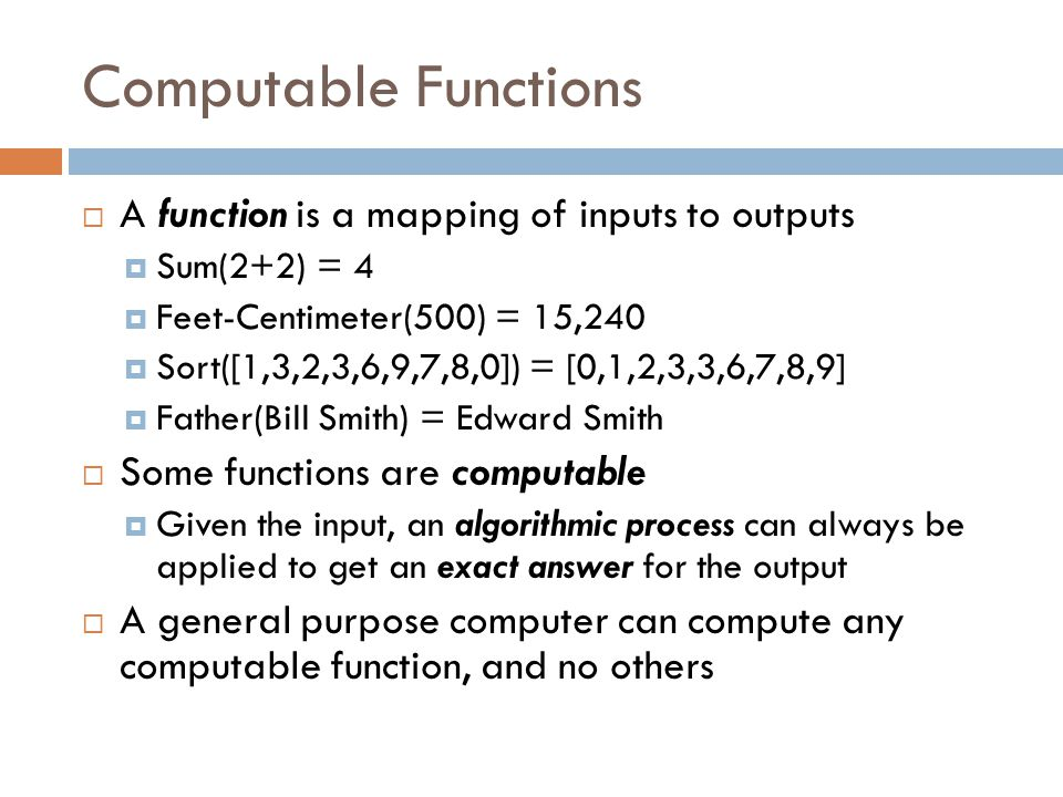 Algorithmic Complexity  Algorithmic Complexity refers to how many resources (time and memory) a computer will need to solve a problem  How long will it take to process all the data.