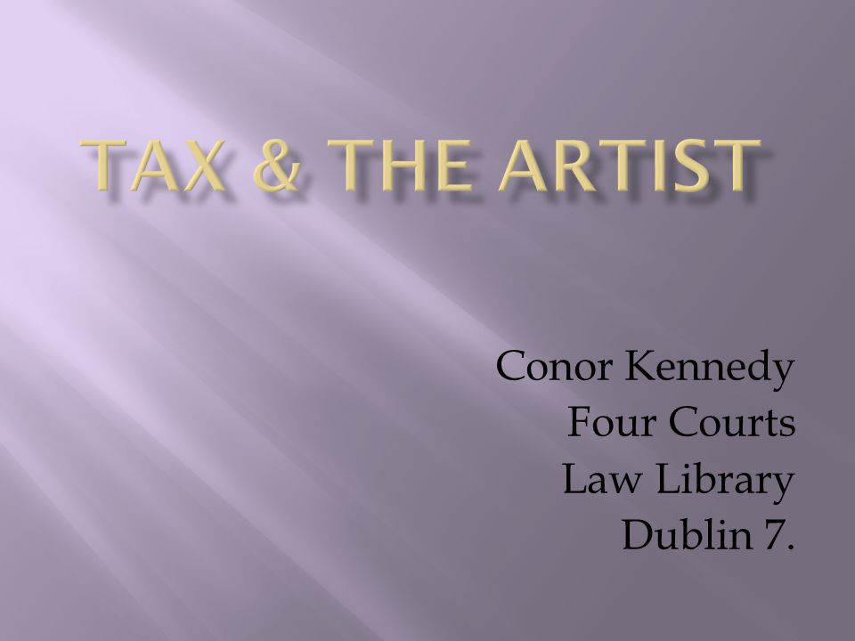 Conor Kennedy Four Courts Law Library Dublin 7.