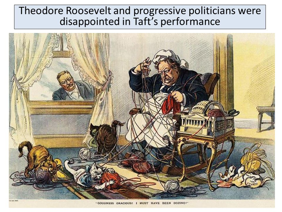 But, Taft sometimes sided with the conservative wing of the Republican Party Taft angered progressive Republicans when he supported a high tariff whic