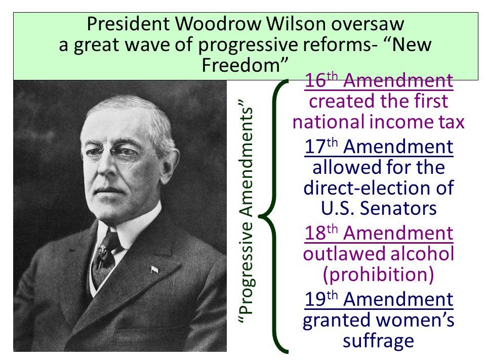 Republican voters were divided between Taft and Roosevelt… …and Democrat Woodrow Wilson won the election of 1912 Republicans divided by a Bull moose e