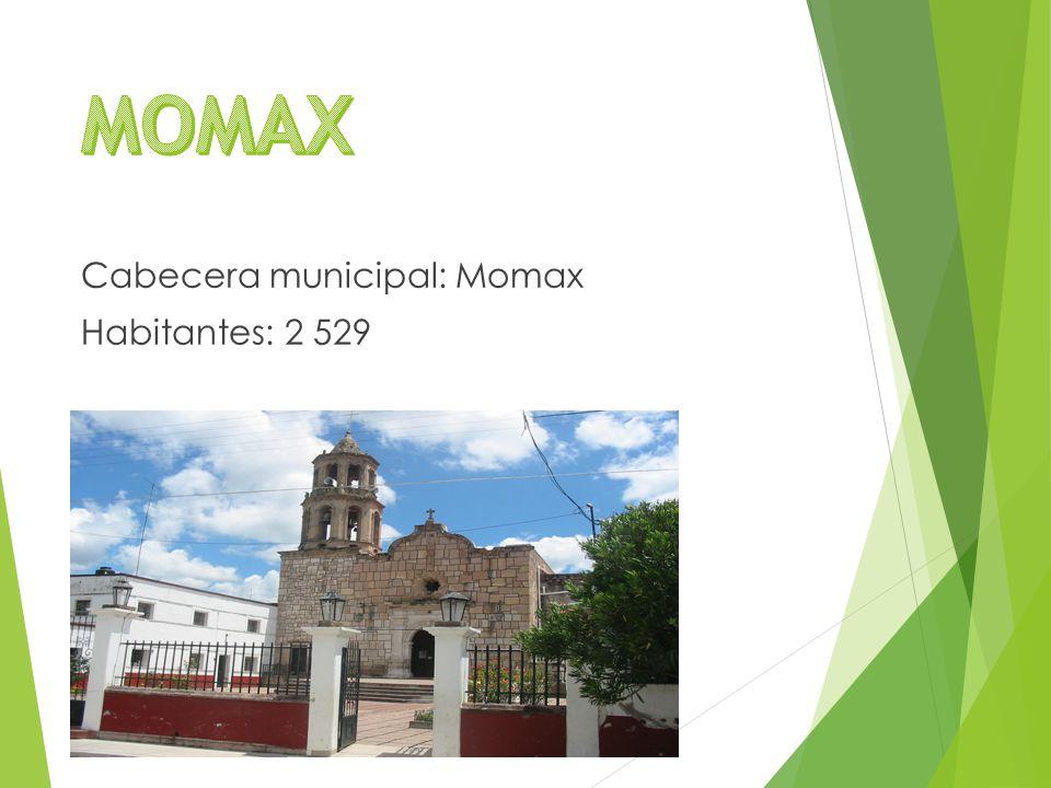 Cabecera municipal: Momax Habitantes: 2 529