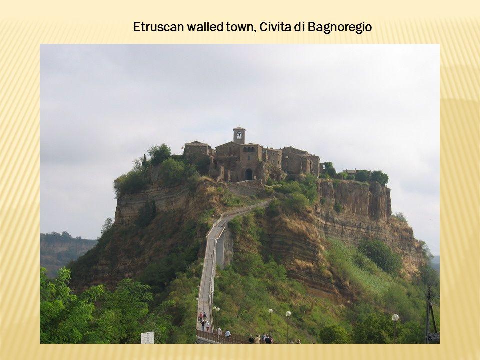 Etruscan walled town, Civita di Bagnoregio