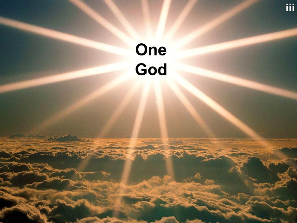 vi Different Views of God